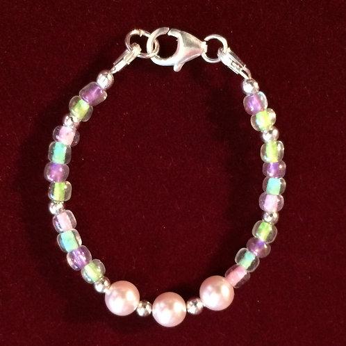 Colorful infant bracelet - 6-12 mo's