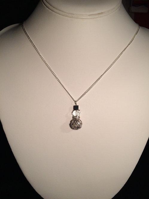 Razzel-Dazzel Snowman Necklace