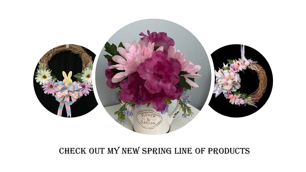 New Spring Line of Products for website