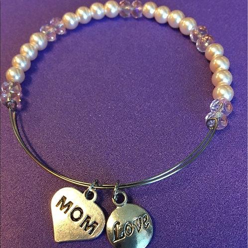 Light Pink Adjustable Mom Bracelet
