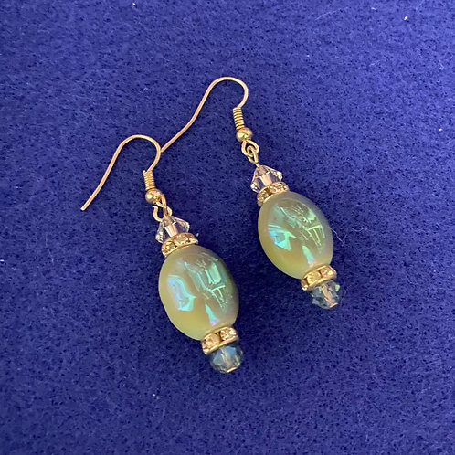 Iridescent Baubles Earrings