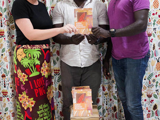 Kuna Siuwai Pokong book presented to Rara-Rarei Foundation for delivery to Siwai Schools