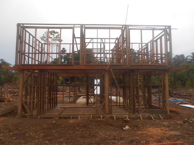 Construction of Kainake Project Resource Centre is taking shape