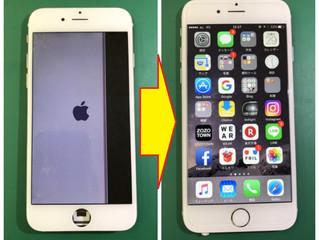 iPhone6 パネル&マナースイッチ不良