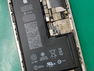 iPhoneXs基板修理完了