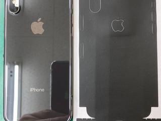 iPhoneの背面ガラス