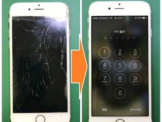 【iPhone6s】パネル破損
