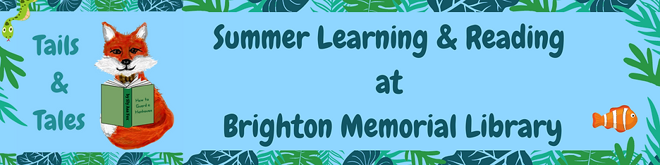 Summer Learning & Reading at Brighton Me