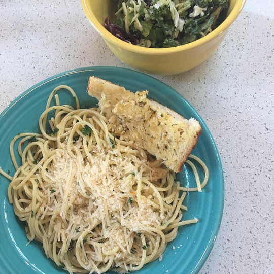 Homemade garlic pasta meal.jpg