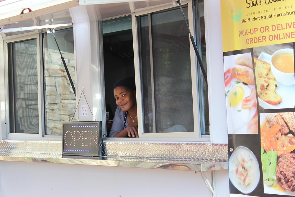 Order window at restaurant