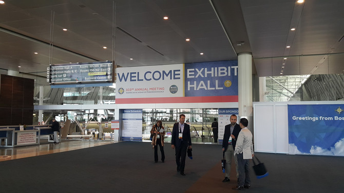 Ti-oss® at 2017 AAP-American Academy of Periodontology Annual Meeting, Boston, USA