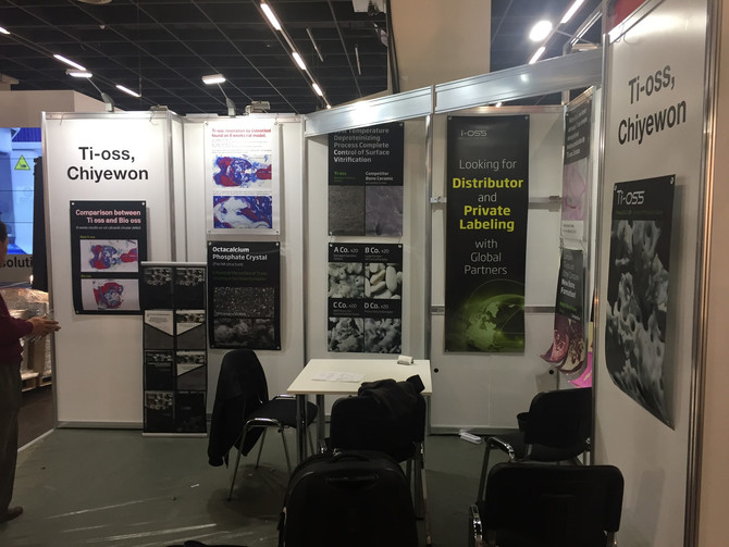 Ti-oss® at 2017 IDS-International Dental Show, Cologne, Germany