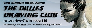 Dulles Drawing Club, Web Banner