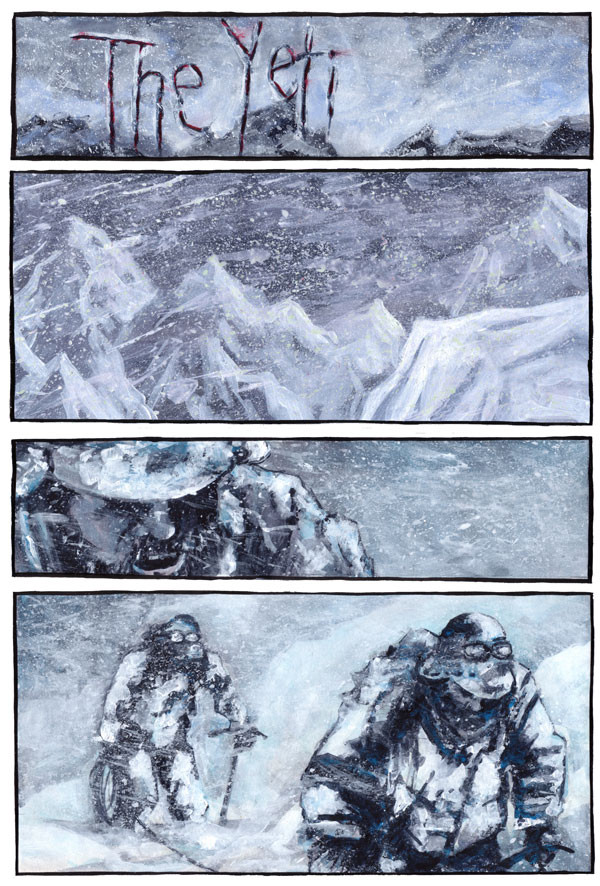 The Yeti, Page 1