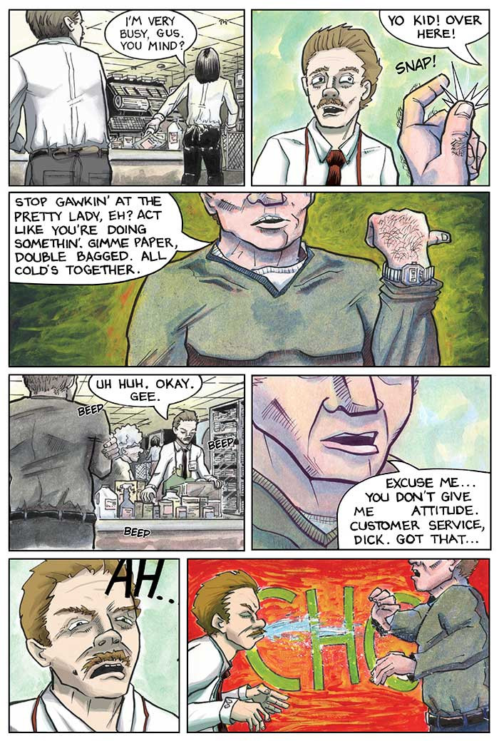 The Strange Fungus in Mr. Winslow, Page 4