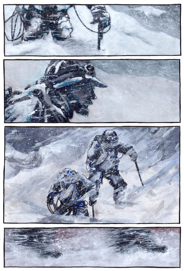 The Yeti, Page 2