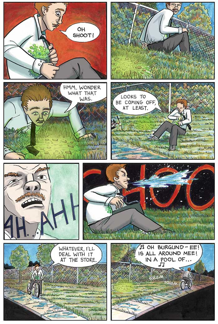 The Strange Fungus in Mr. Winslow, Page 2
