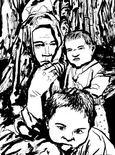 Afghani Mother