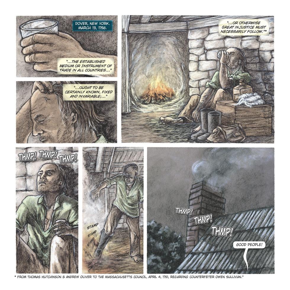 The Apprehension of Owen Sullivan, Page 1