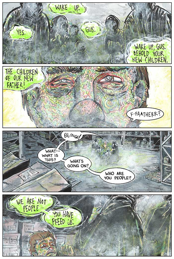 The Strange Fungus in Mr. Winslow, Page 11