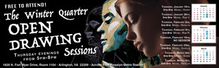 Open Drawing Sessions, Web Banner