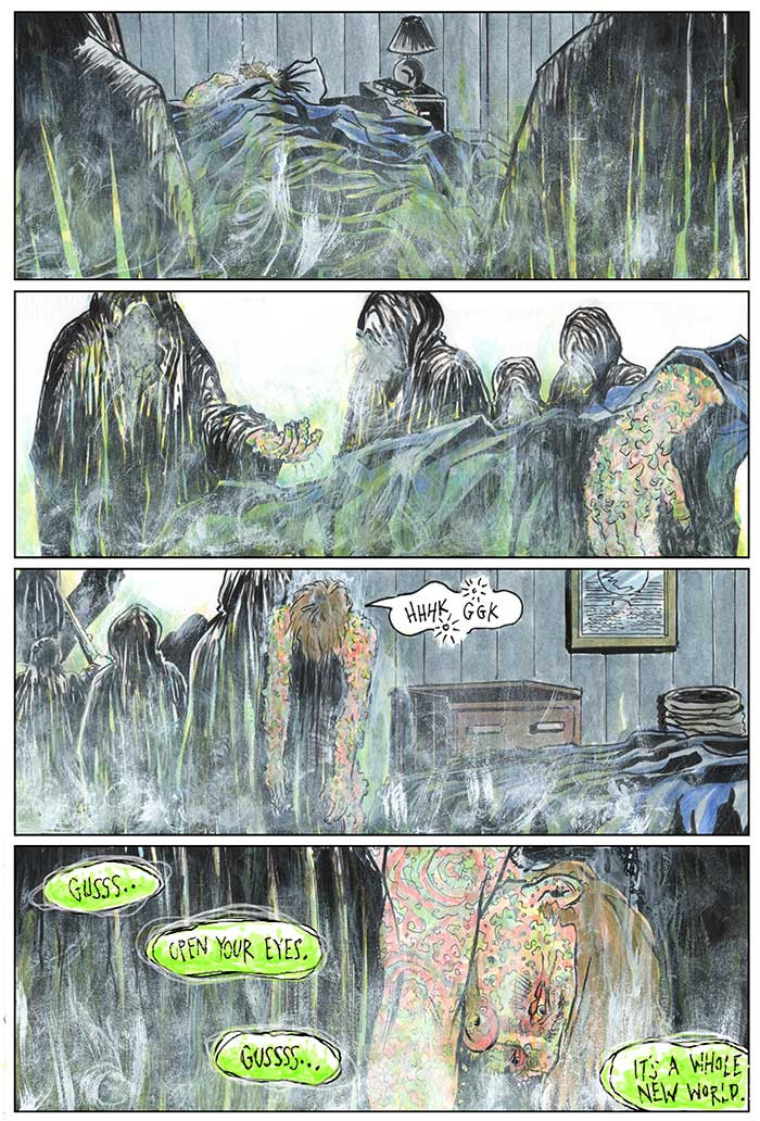 The Strange Fungus in Mr. Winslow, Page 10