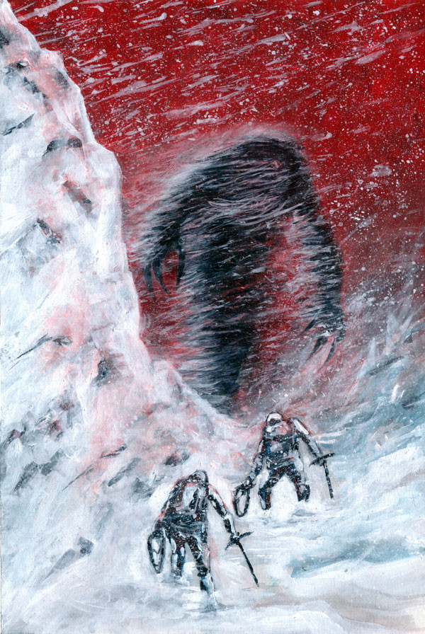 The Yeti, Cover
