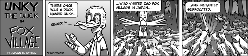 After last week's fatal case of radiation poisoning, we decided to send Unky to a place that has NEVER experienced such horrors…JAPAN!