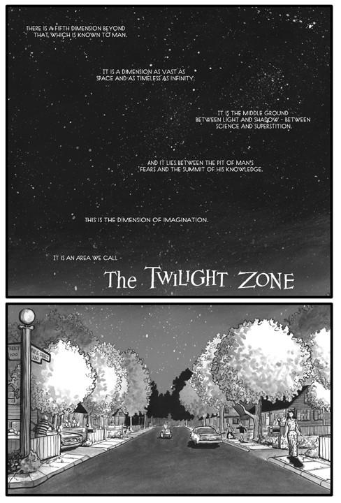 The Monsters Are Due on Maple Street, Page 1