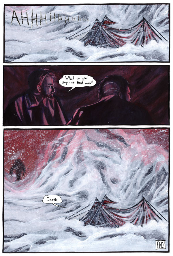 The Yeti, Page 4