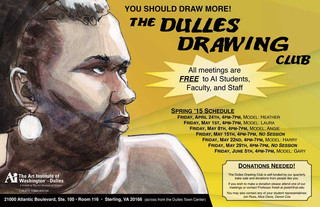 Dulles Drawing Club, Poster