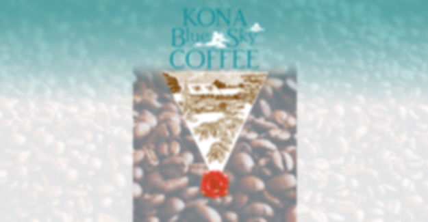 Kona Blue Sky Coffee Label