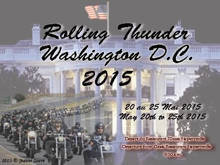 2015 Rolling Thunder D.C.