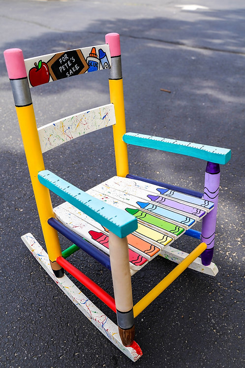 Custom Made Kids Rocking Chair