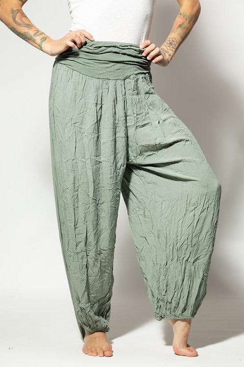 Harem Yoga Pants - Light Green