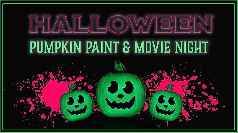Halloween Pumpkin Paint Night