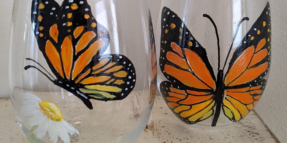 Paint Night - Wine Glasses