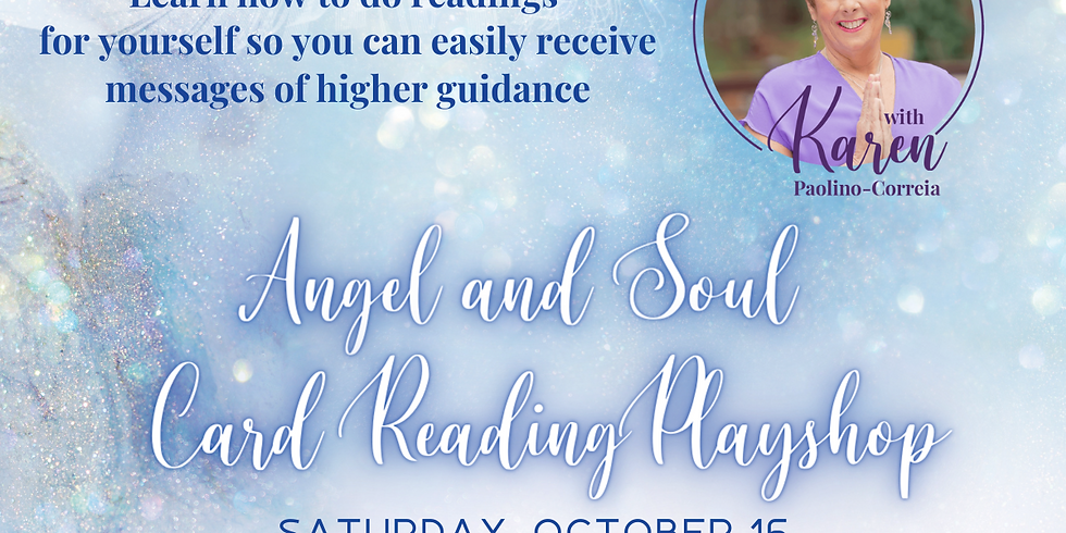 Angel and Soul Reading Playshop