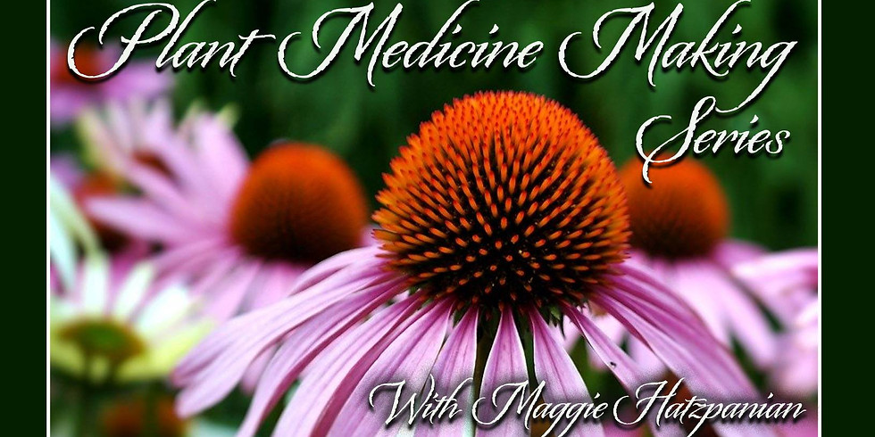 Blending Herbs for Tea Workshop w/Maggie