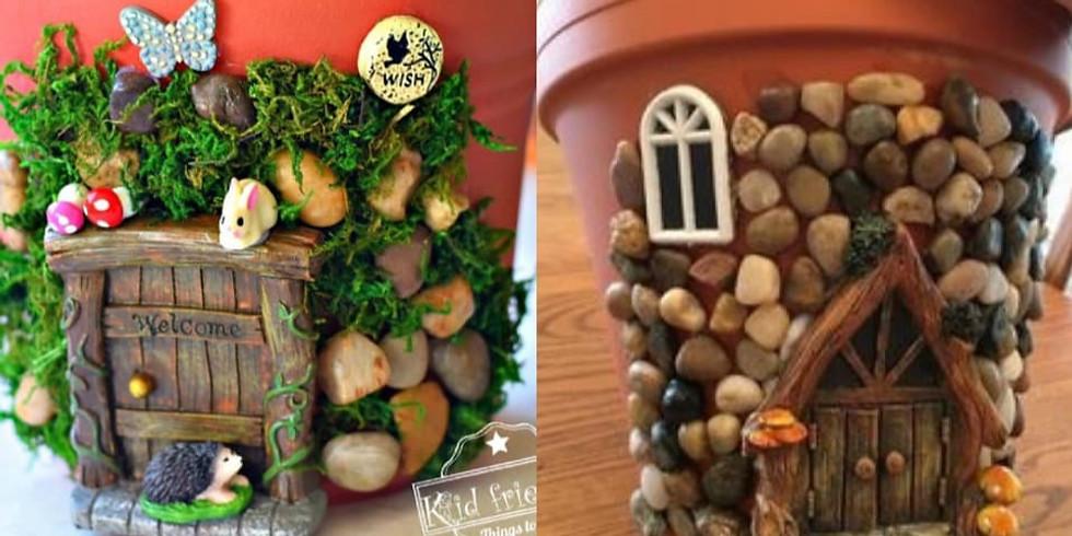 Parent/Child Fairy Planter DIY Playshop