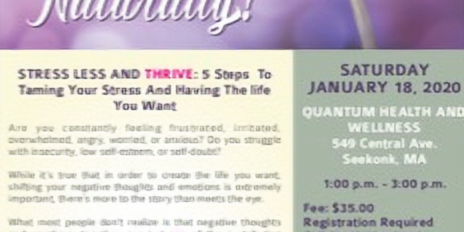 Reduce Stress Naturally with Brad & Pamela Thompson of Wellness Within