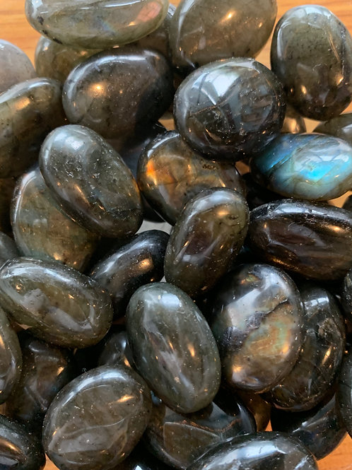 Labradorite Tumbled Stone (3 pieces)