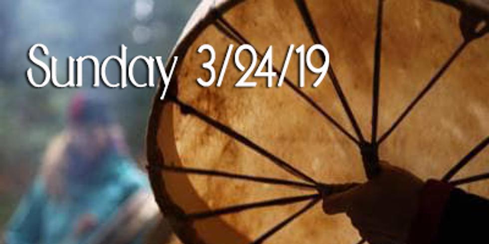 Sunday: Medicine Drum Making