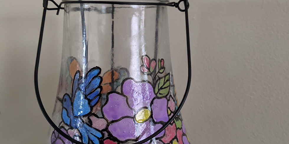 Paint Night - Stained Glass Lantern/Vase
