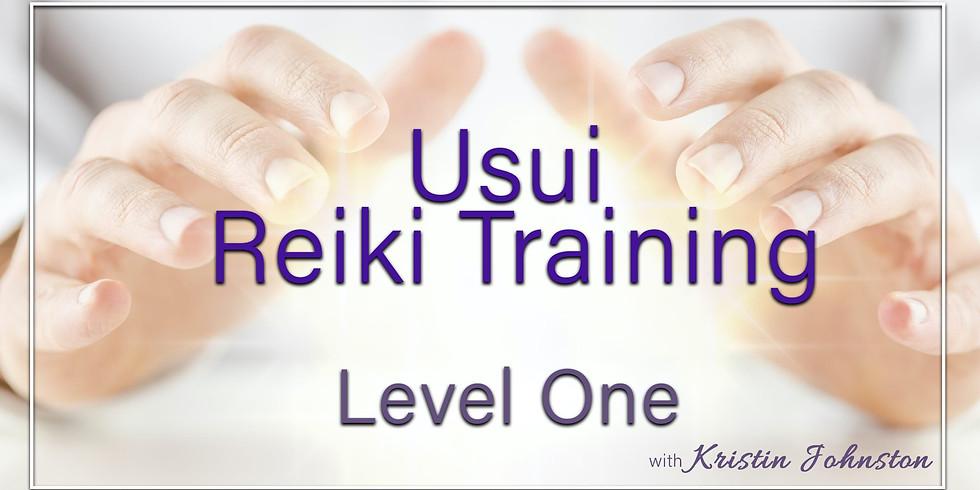 Usui Reiki Training - Level One