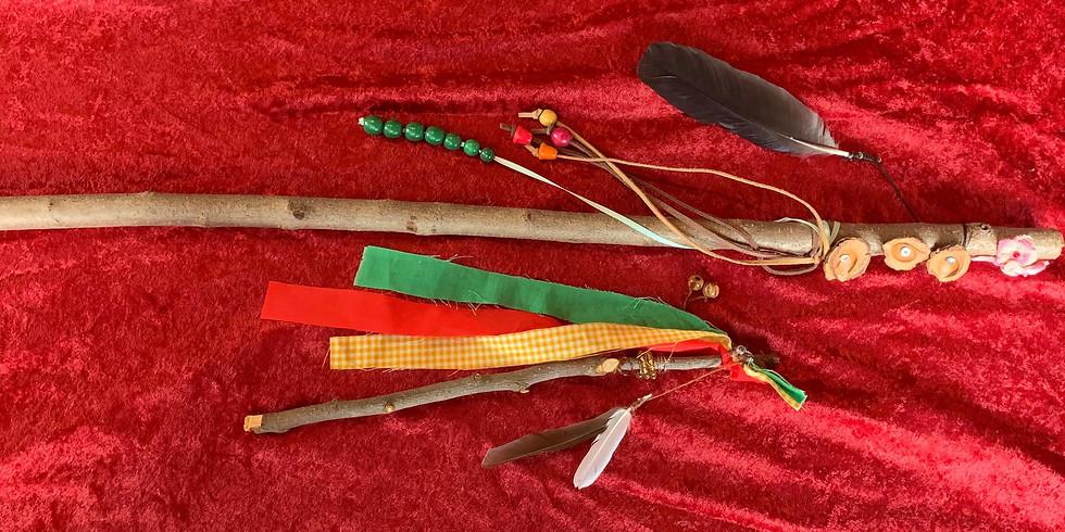 Native Prayer Sticks with Abby (3)