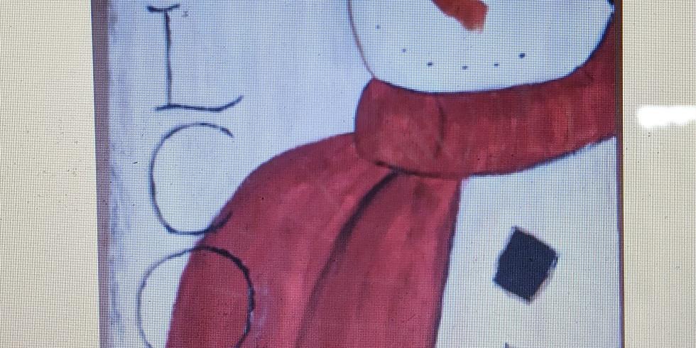 Paint Night - Wooden Snowman
