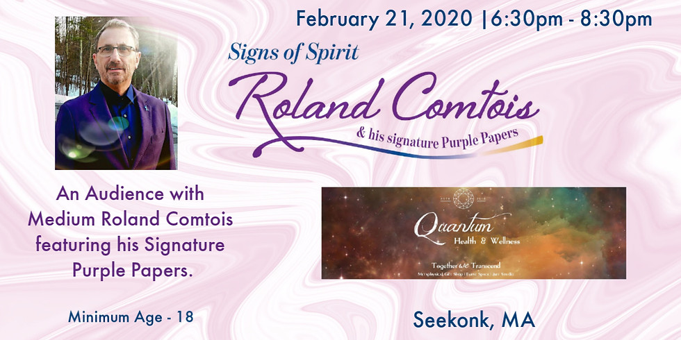 Signs of Spirit with Roland Comtois  (1)
