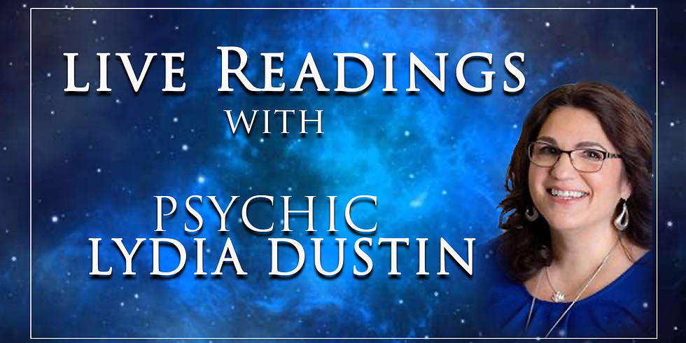 Readings with Psychic Lydia Dustin