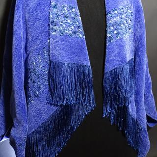 iris chenille hopi wrap jacket length